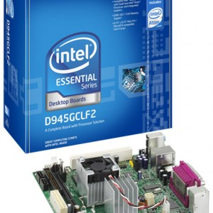 Intel® Desktop Board D945GCLF2 With Integrated Intel® Atom™ 330 Processor