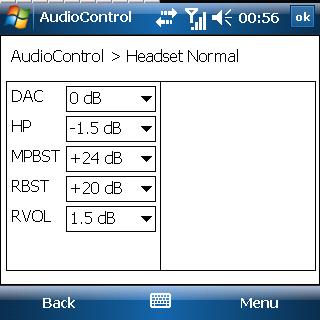 Samsung SGH-i780 Control Util Headset