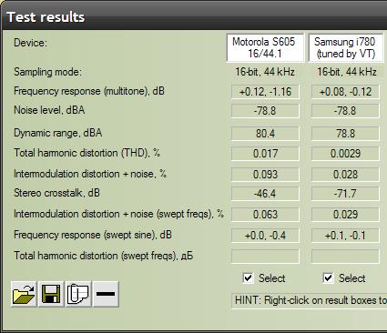 Motorola S605 RMAA