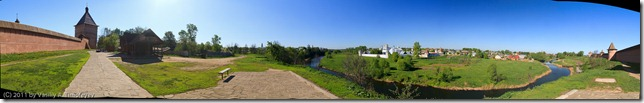 Панорама у Спасо-Евфимиева монастыря