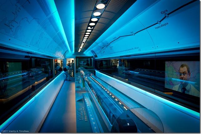 Светодиодное освещение вагонов