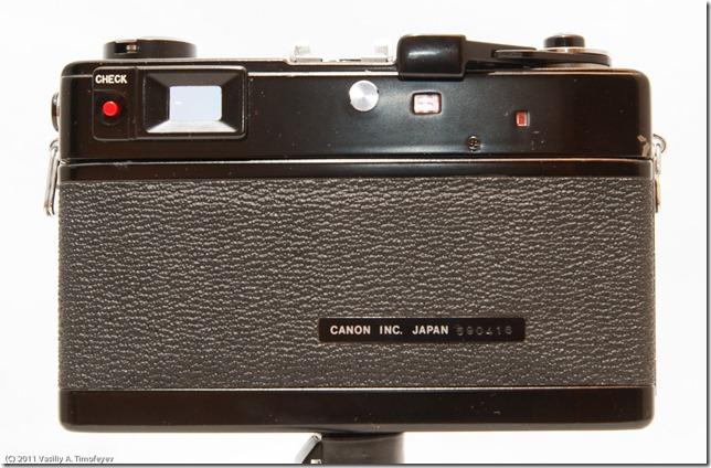 Canonet QL-17L black